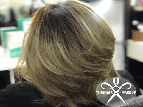 Kiểu tóc layer tầng cao