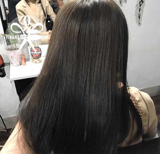 Nhuộm tóc nâu tây Hạnh Võ 121