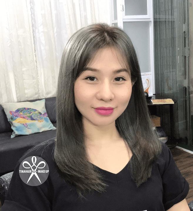 Nhuộm tóc xám khói Thanh 053