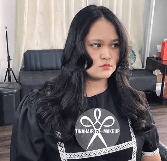 Uốn tóc sóng lơi Hàn Quốc Như 312