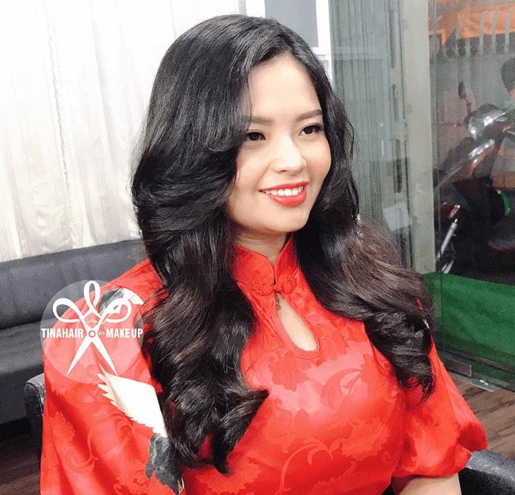 Uốn tóc sóng lơi Hàn Quốc