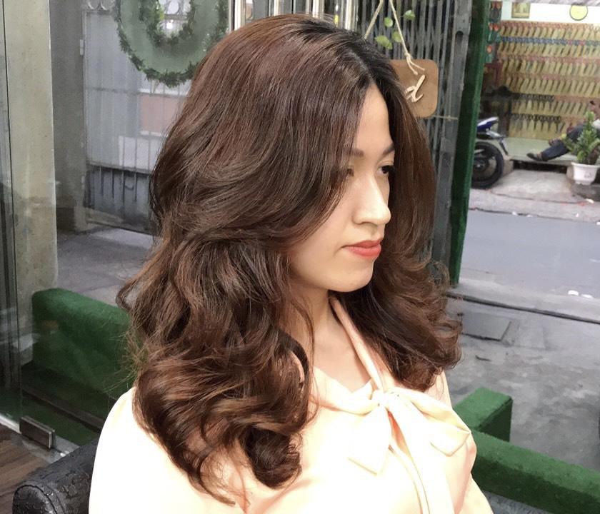 Uốn tóc sóng lơi Hàn Quốc Thảo 855
